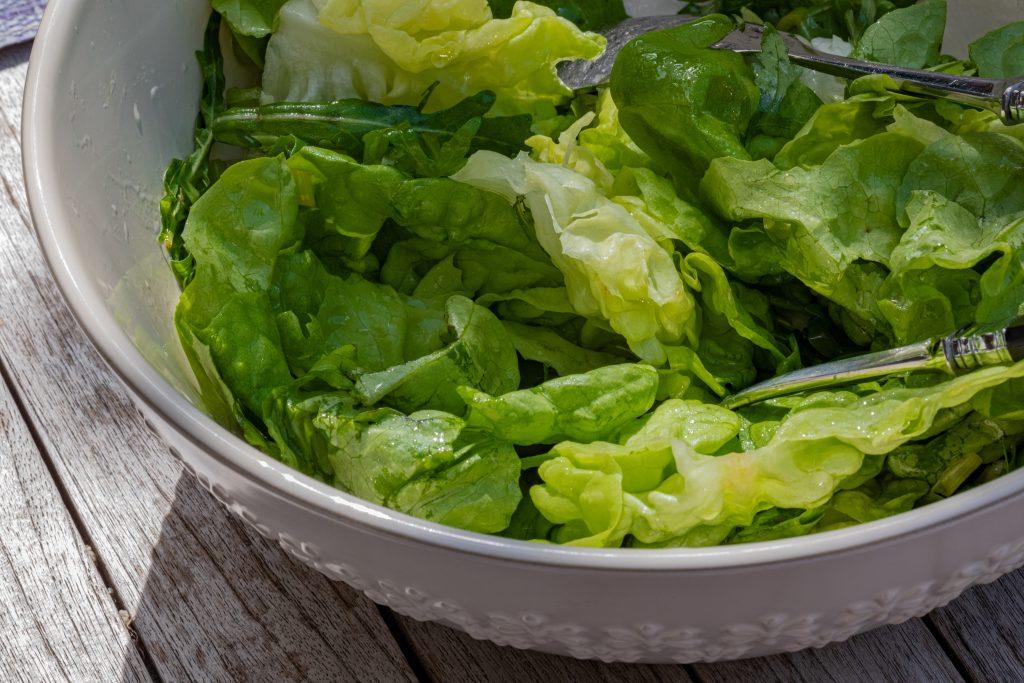 Večna klasika - zelena solata