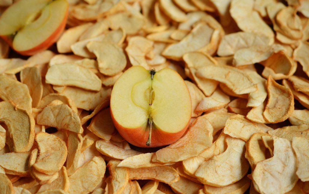 K pokovki se odlično podajo tudi jabolčni krhlji