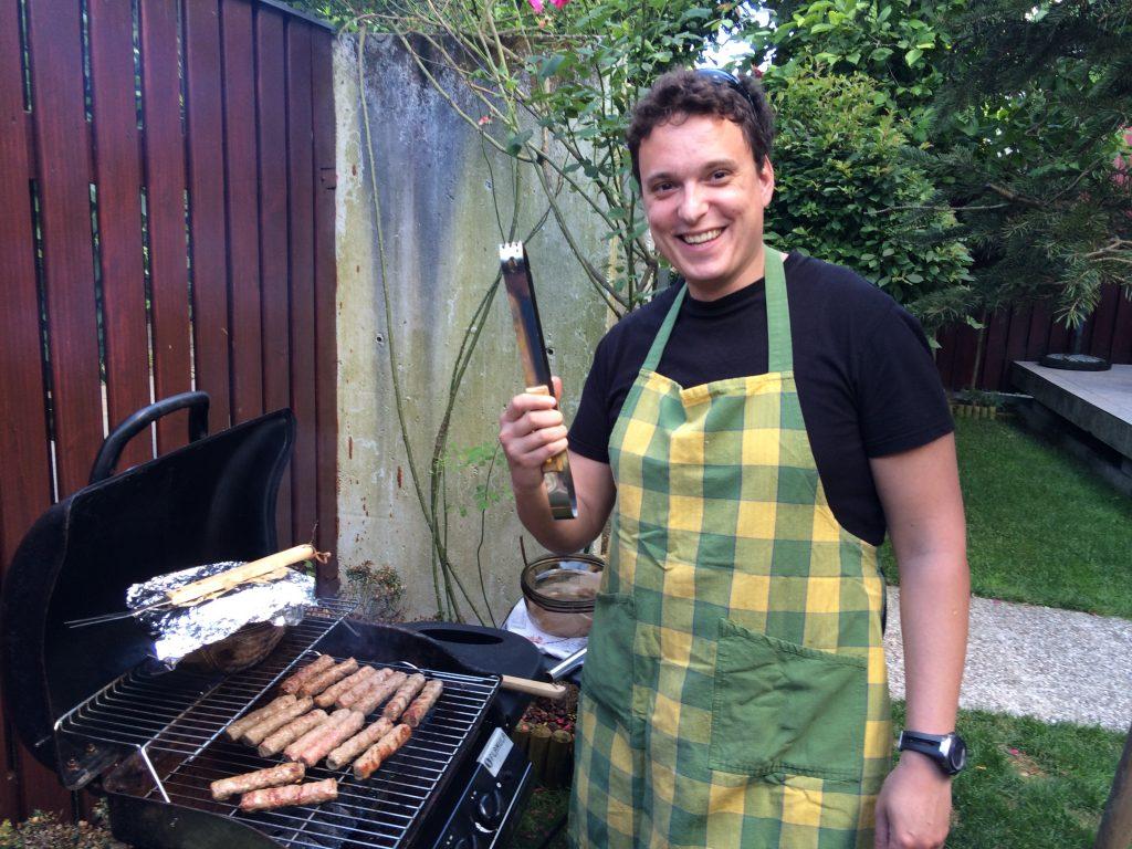 Aljoša, burger majster in zmagovalec izziva #Najbolj odpičen piknik